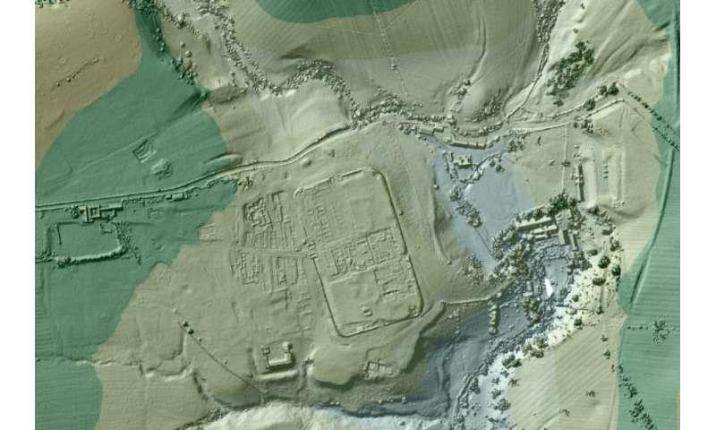 Lasers reveal 'lost' Roman roads