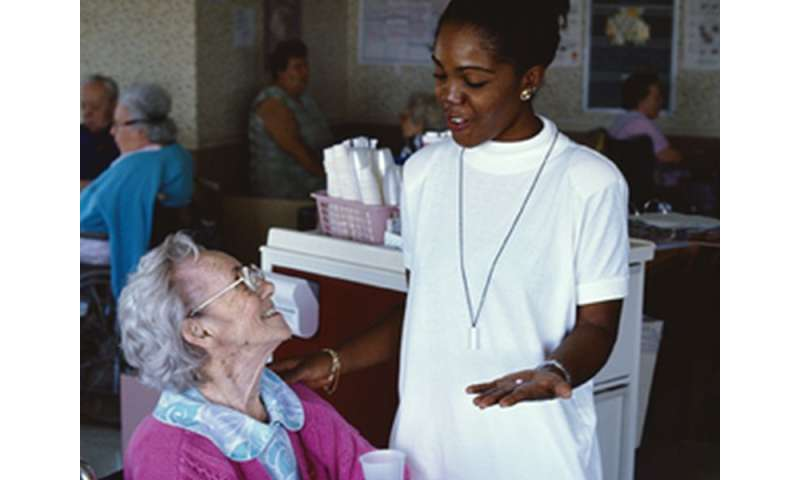 Laughter is good medicine for nursing home residents
