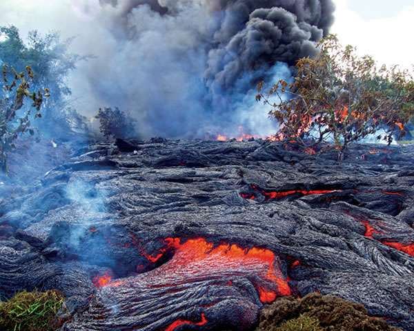 Lava flow crisis averted (for now)