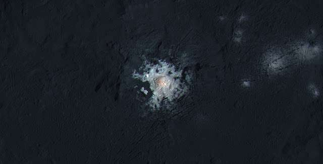 Life on Ceres? Mysterious changes in the bright spots still baffle scientists