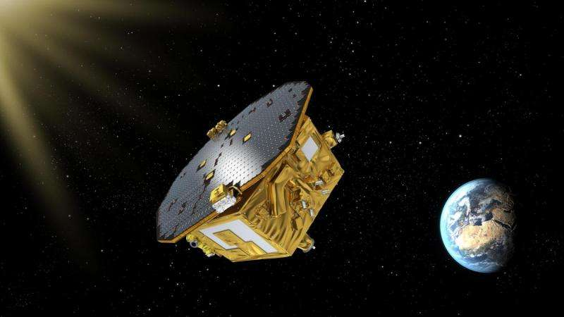 LISA pathfinder thrusters operated successfully