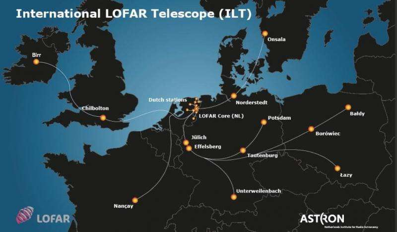 LOFAR telescope array expands into Ireland