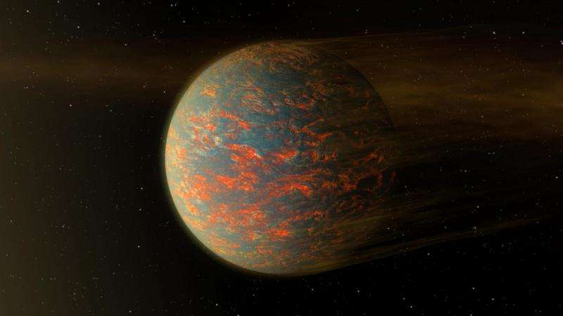 Map of rocky exoplanet reveals a lava world