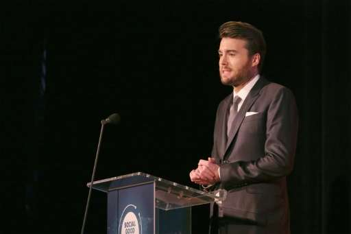 """Mashable CEO Pete Cashmore, pictured on September 27, 2015, said """"There is enormous opportunity for a brand that combines t"""