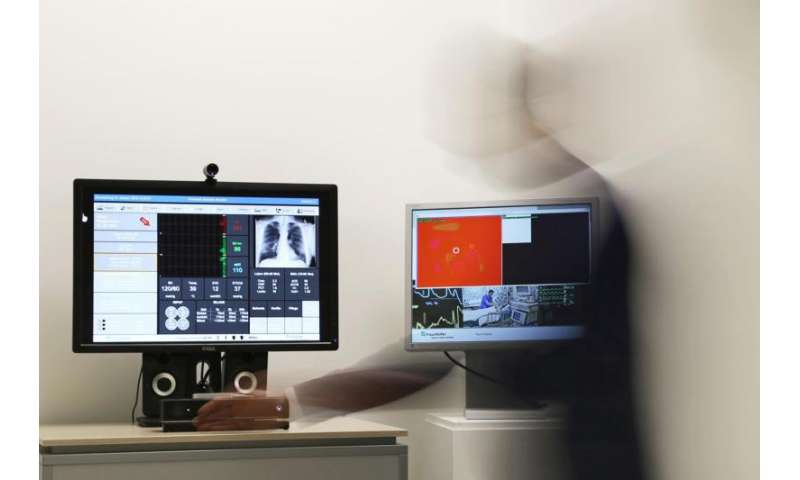 Medical monitor with eyes and ears