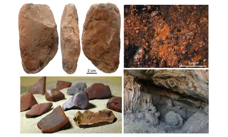 Middle Stone Age ochre processing tools reveal cultural and behavioural complexity