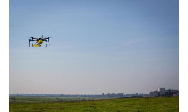 Mini NASA methane sensor makes successful flight test
