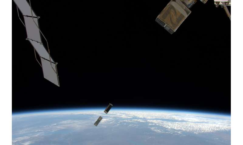 MinXSS CubeSat deployed from ISS to study Sun's soft x-rays