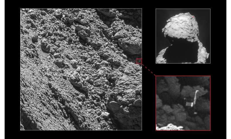 Missing comet lander Philae spotted at last: ESA (Update)