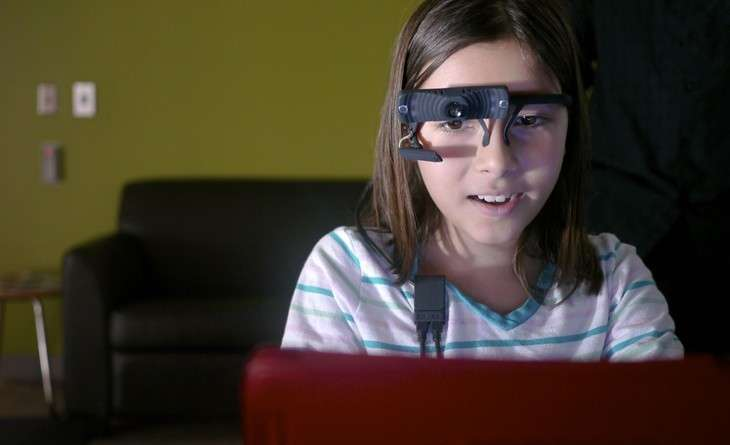 Mobile eye-tracking system used to study anxiety in children