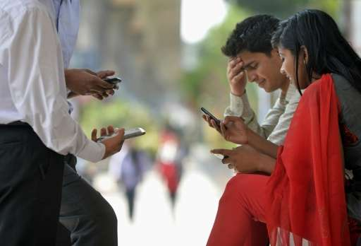 Mobile phone subscriptions have boomed in India in recent years as aggressive cost-cutting by telecoms providers has driven down