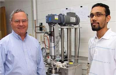 Momentum builds behind researcher's new biomass process