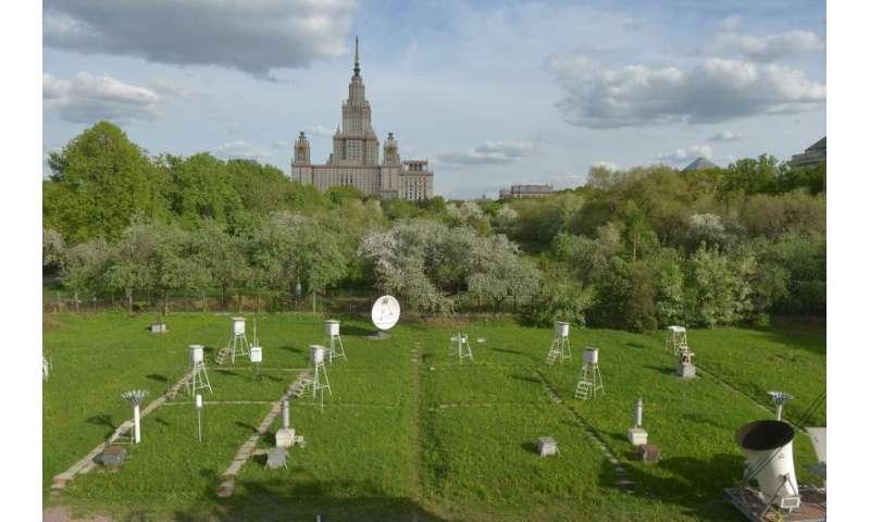 Moscow gets rid off aerosols