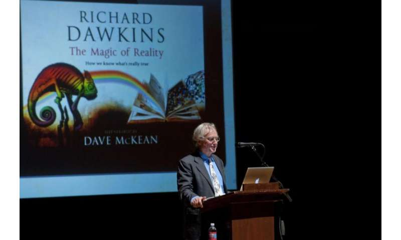 Most British scientists cited in study feel Richard Dawkins' work misrepresents science