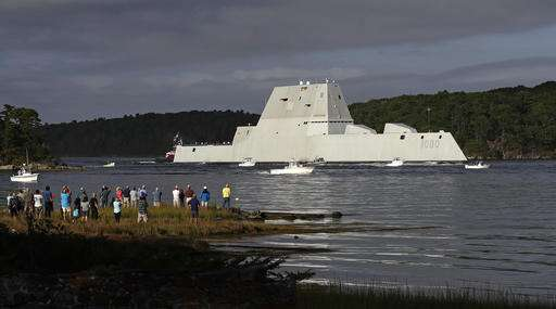 Most expensive destroyer in Navy history breaks down