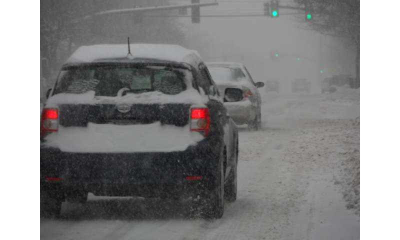 Motorists navigate winter weather in New Hampshire