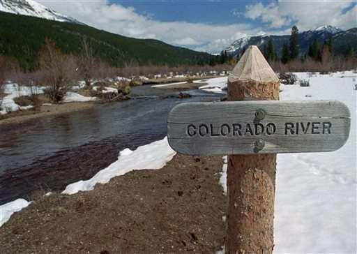 Mountain snows that feed Colorado River look good so far