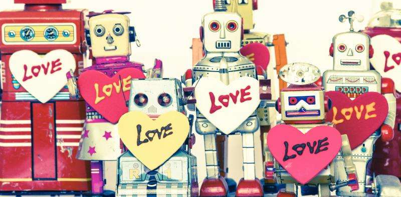 My robot Valentine—could you fall in love with a robot?