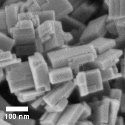 Nano plates as catalysts for solar fuels