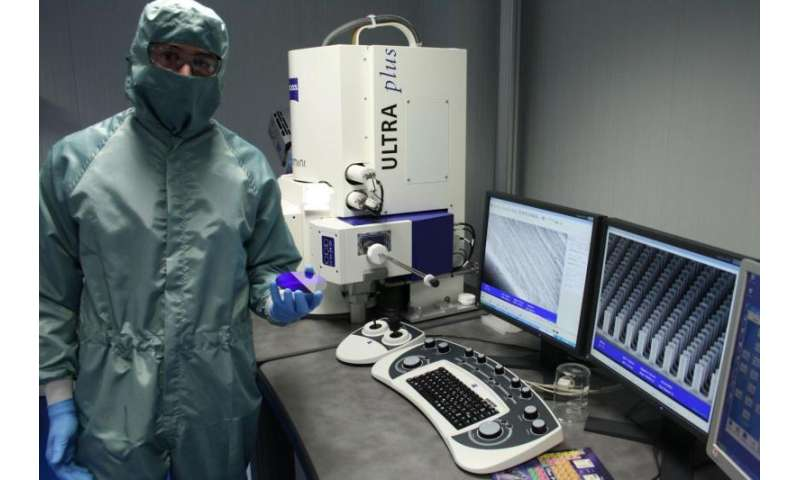 Nanostructures used as biosensors allow diseases or allergens to be detected