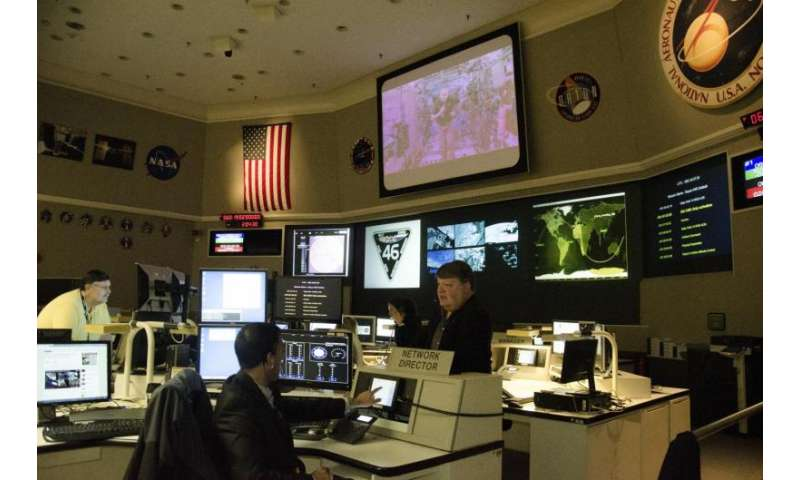 NASA Goddard network maintains communications from space to ground