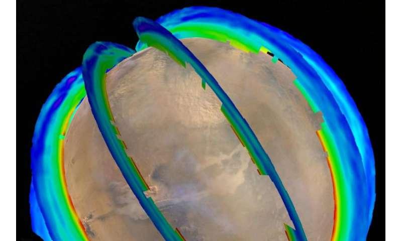 NASA Mars orbiters reveal seasonal dust storm pattern