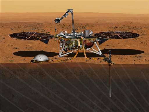 NASA salvages Mars mission that should have launched by now (Update)