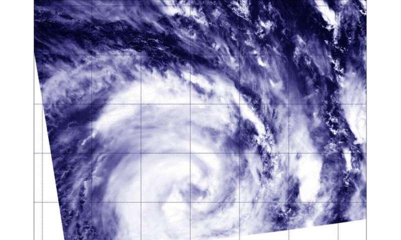 NASA sees Corentin reach hurricane strength