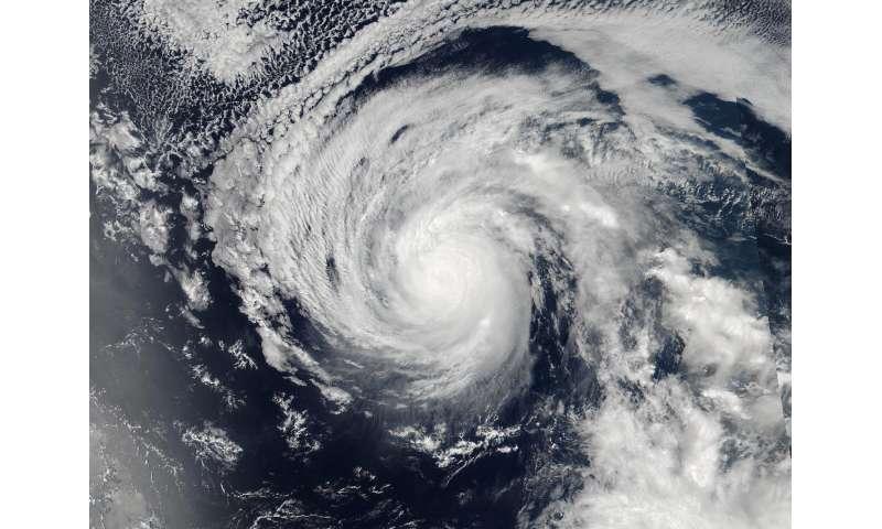 NASA sees Lester strengthening into fourth major Eastern Pacific hurricane