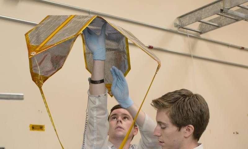 NASA's exo-brake 'parachute' to enable safe return for small spacecraft