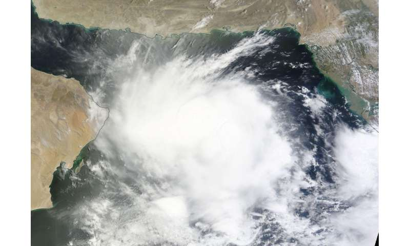 NASA spots Tropical Cyclone 02A develop in Arabian Sea