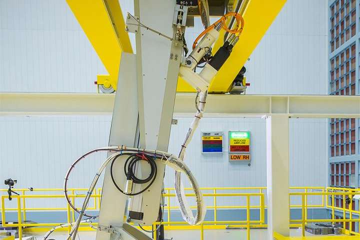 NASA Webb Telescope mirrors installed with robotic arm precision