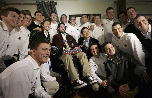 NCAA honors man who inspired ALS ice bucket challenge