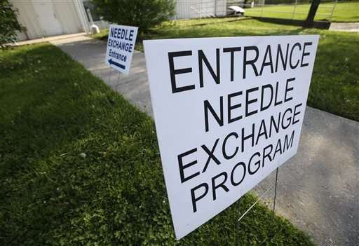 Needle exchange leaders cheer relaxed federal funding ban