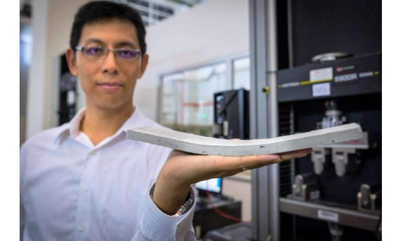 New bendable concrete that is stronger and more durable