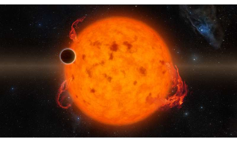 Newborn exoplanet discovered around young star