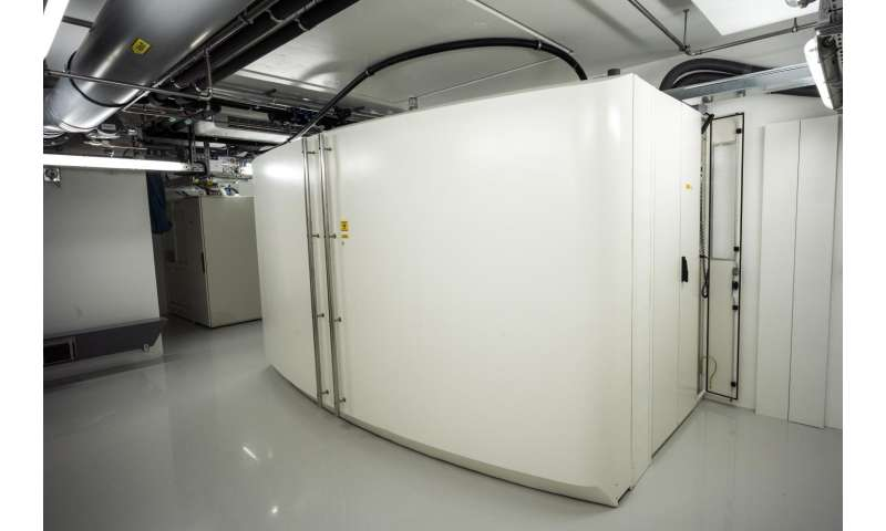 New cyclotron used for fundamental and applied research in radiopharmaceutical chemistry