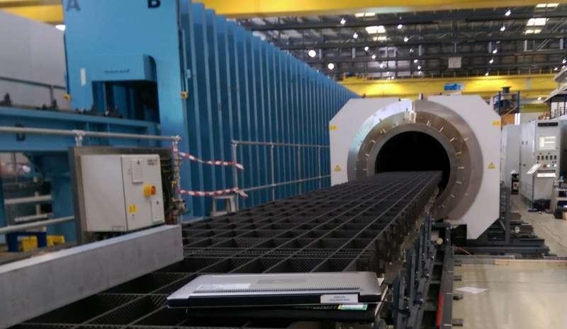 New furnace a step towards future collider development