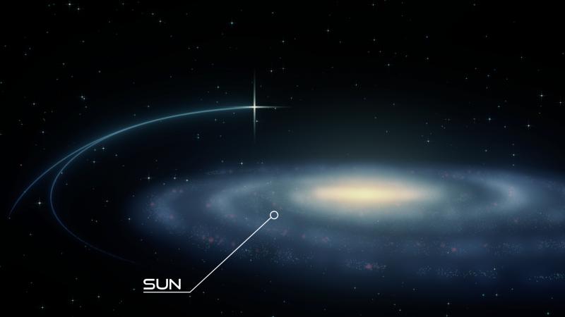 New hypervelocity binary star challenges dark matter, stellar