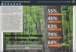 New interactive guide tells the story of forest products in the South