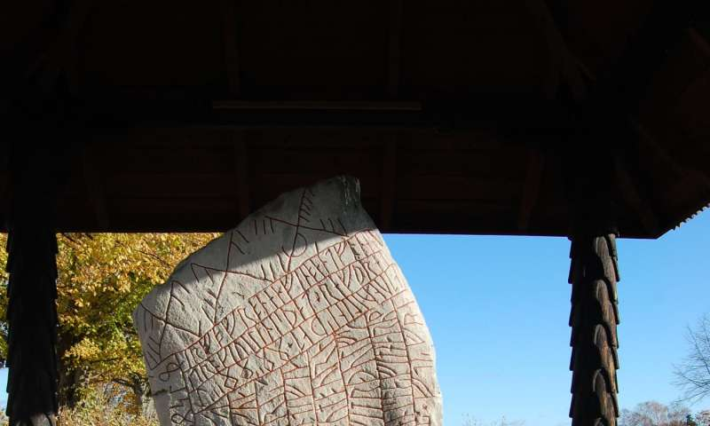 New interpretation of the Rök runestone inscription changes view of Viking Age
