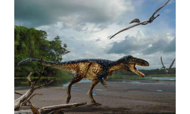 Newly found species reveals how T. rex became king of dinosaurs