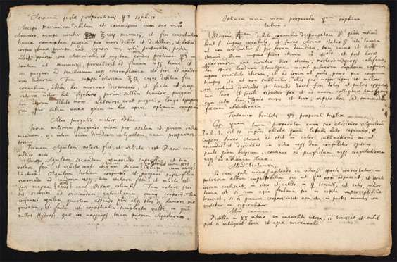 Newly purchased Newton alchemy manuscript to be put online