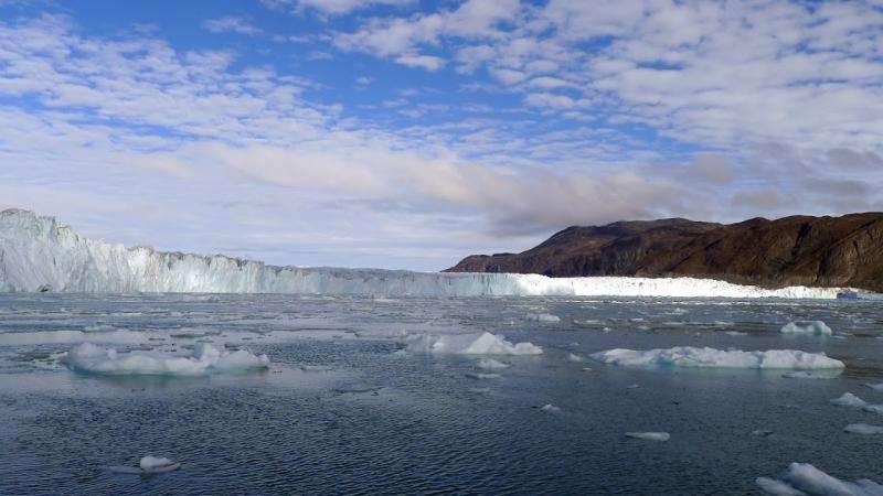 New maps chart Greenland glaciers' melting risk