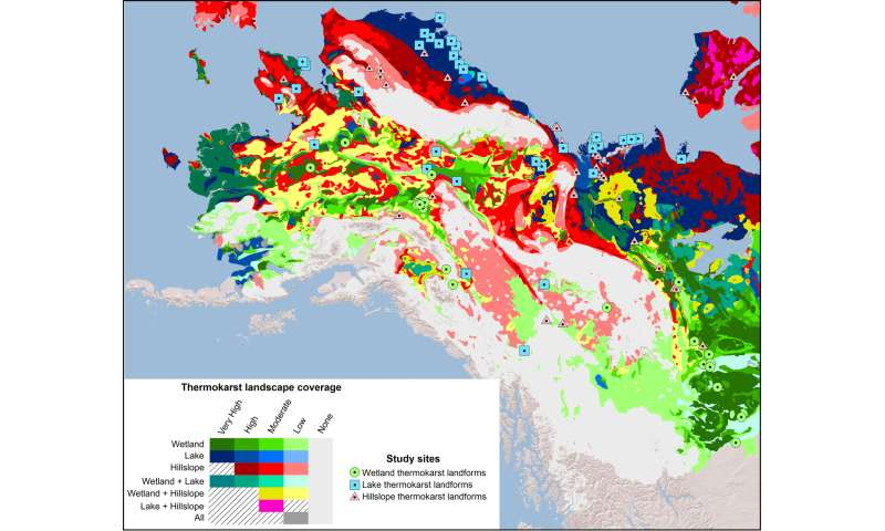 New permafrost map shows regions vulnerable to thaw, carbon release