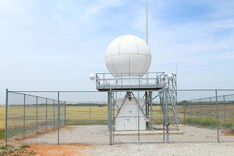New radars for estimating rainfall installed at ARM sites