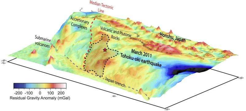 New study pinpoints stress factor of mega-earthquake off Japan