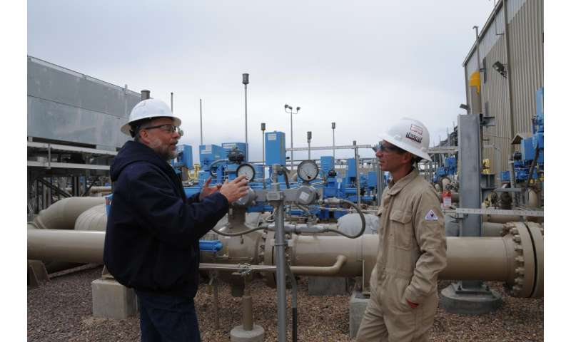 New study to characterize methane emissions from natural gas compressor stations