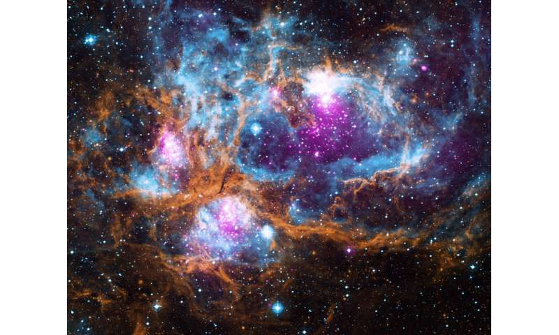 NGC 6357: Cosmic 'winter' wonderland