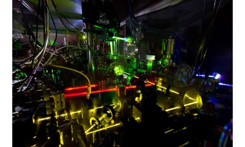 NIST debuts dual atomic clock -- and a new stability record